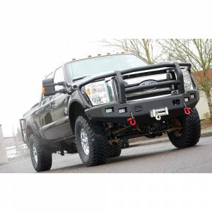 Truck Bumpers - Trail Ready - TrailReady - TrailReady 12375G Winch Front Bumper with Full Guard for Ford F450/F550 2017-2020