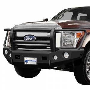 Shop Bumpers By Vehicle - Ford Expedition - TrailReady - TrailReady 12225G Winch Front Bumper with Full Guard for Ford Expedition 2007-2014