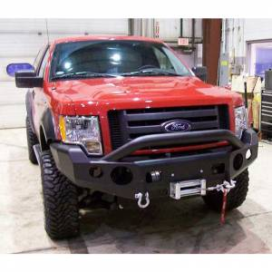 TrailReady - TrailReady 12200P Winch Front Bumper with Full Guard for Ford F150 1997-2003 - Image 2