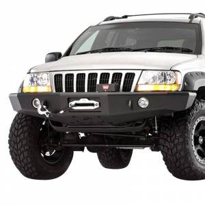 Shop Bumpers By Vehicle - Jeep Grand Cherokee - TrailReady - TrailReady 18000B Winch Front Bumper for Jeep Grand Cherokee 1999-2004