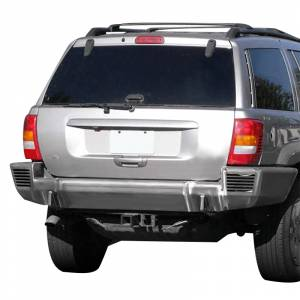 Shop Bumpers By Vehicle - Jeep Grand Cherokee - TrailReady - TrailReady 2200B Rear Bumper for Jeep Grand Cherokee ZJ 1993-1998