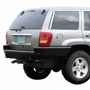 Shop Bumpers By Vehicle - Jeep Grand Cherokee - TrailReady - TrailReady 23000B Rear Bumper for Jeep Grand Cherokee WJ 1999-2004
