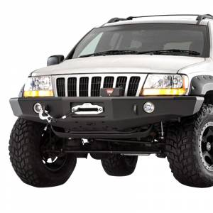 Shop Bumpers By Vehicle - Jeep Grand Cherokee - TrailReady - TrailReady 3300B Winch Front Bumper for Jeep Grand Cherokee 1993-1998