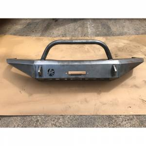 Affordable Offroad - Affordable Offroad Full Size Modular Front Bumper with Bull Bar for Ford F150/F250/F350/Bronco 1992-1996