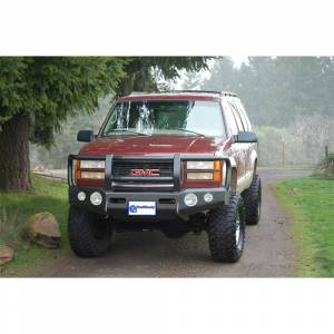 Truck Bumpers - Trail Ready - TrailReady - TrailReady 10100G Winch Front Bumper with Full Guard for GMC Jimmy 1981-1991