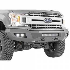 Rough Country - Truck Bumpers - Rough Country - Rough Country 10776 Front Bumper for Ford F150 2015-2021