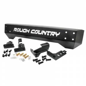 Rough Country - Jeep Bumpers - Rough Country - Rough Country 1011 Stubby Front Bumper for Jeep Wrangler TJ/YJ 1987-2006