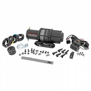 Rough Country RS4500S UTV/ATV Electric Winch with Synthetic Rope