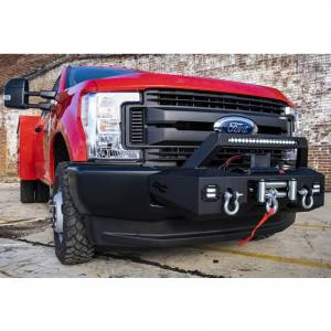 Exterior Accessories - Winch Mount | Hidden Winch Bumpers - Rough Country - Rough Country 51004 EXO Winch Mount System for Ford F250/F350 2017-2020