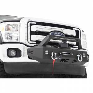 Exterior Accessories - Winch Mount | Hidden Winch Bumpers - Rough Country - Rough Country 51006 EXO Winch Mount System for Ford F250/F350 2011-2016