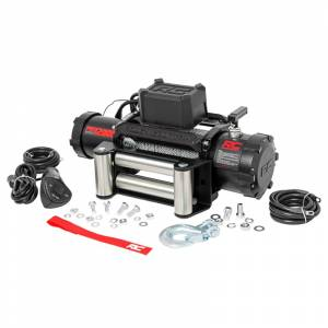 Rough Country PRO12000 Pro Series Electric Winch with Steel Cable