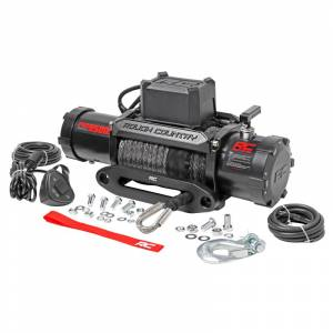 Rough Country PRO9500S Pro Series Electric Winch with Synthetic Rope