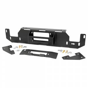Exterior Accessories - Winch Mount | Hidden Winch Bumpers - Rough Country - Rough Country 51007 Hidden Winch Mounting Plate for Ford F150 2015-2020