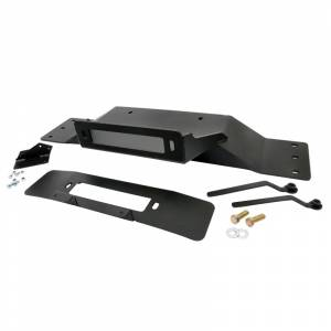 Exterior Accessories - Winch Accessories - Rough Country - Rough Country 1010 Hidden Winch Mounting Plate for Ford F150 2009-2014