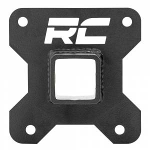 """Rough Country 93039 2"""" Receiver Hitch Plate for Polaris RZR 1000/1000XP 2014-2021"""