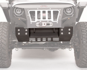 Fab Fours - Fab Fours GR1005-1 Grumper Crash Cover ONLY for Jeep Wrangler JK 2007-2018