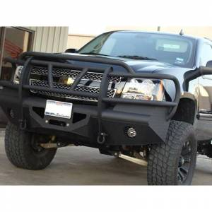 Bodyguard - Bodyguard AEC07 Traditional Extreme Front Bumper for Chevy Tahoe/Suburban 2007-2014 - Image 2