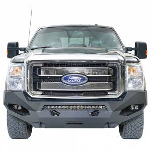 Fab Fours FS11-X2551-1 Matrix Winch Front Bumper with Sensor Holes for Ford F-250/F-350 2011-2016