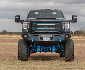 Fusion Bumpers - Fusion FB2020GMCGLFB Gladiator Series Front Bumper for GMC Sierra 2500 HD/3500 2020-2021