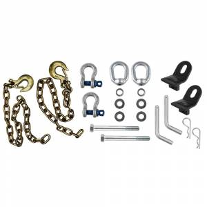 Towing Accessories - Towing Parts & Accessories - Andersen - Andersen 3215 Ultimate Connection Safety Chains with Rail Tabs