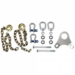 Towing Accessories - Towing Parts & Accessories - Andersen - Andersen 3249 Ultimate Connection Safety Chains with Plate
