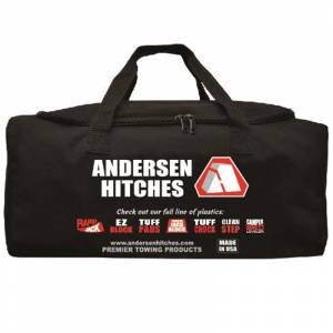 Towing Accessories - Camper Leveler Kits - Andersen - Andersen 3600-2PK Ultimate Trailer Gear Duffel Bag - 2 Pack