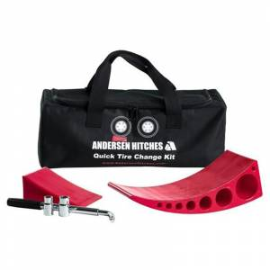 Towing Accessories - Towing Parts & Accessories - Andersen - Andersen 3625 Mini Jack Quick Tire Change Kit
