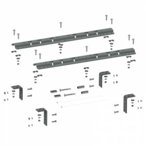 Towing Accessories - B&W Parts &  Accessories - B&W - B&W RVR3200 Universal Mounting Rails for 5th Wheel Hitch