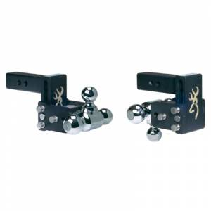 """B&W TS10047BB Tow and Stow 2"""" Receiver Hitch"""