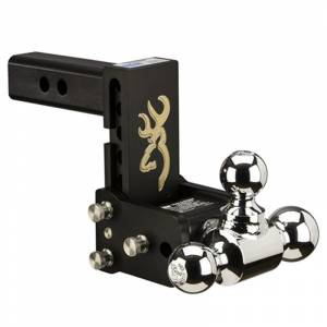 """B&W TS10048BB Tow and Stow 2"""" Receiver Hitch"""