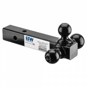"Towing Accessories - Ball Mounts - B&W - B&W BMTT31004 Triple Tow 2"" Tri-Ball Mount"