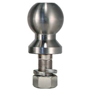 """Towing Accessories - Hitch Balls - Trimax - Trimax TBC2516 2-5/16"""" Single Tow Ball - Chrome"""