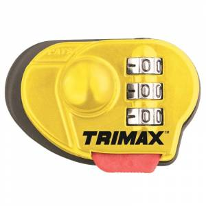 Towing Accessories - Locks - Trimax - Trimax TGCL44 Max Security Combination Gun Lock - 1 Pack
