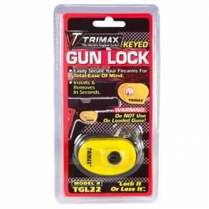 Towing Accessories - Locks - Trimax - Trimax TGL22 Max Security Keyed Gun Lock - 1 Pack