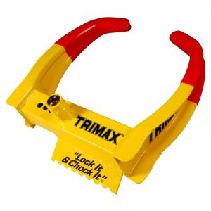 Towing Accessories - Locks - Trimax - Trimax TCL65 Wheel Chock Lock