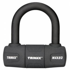 Towing Accessories - Locks - Trimax - Trimax MAX60 General Purpose U-Lock - Black