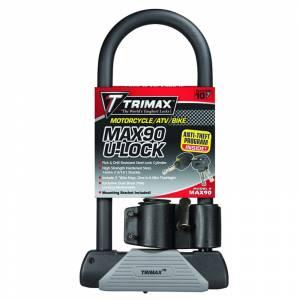Towing Accessories - Locks - Trimax - Trimax MAX90 Ultra-Max Security U-Shackle Lock