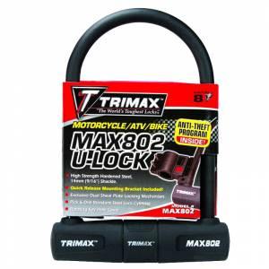 Towing Accessories - Locks - Trimax - Trimax MAX802 U-Shackle Lock