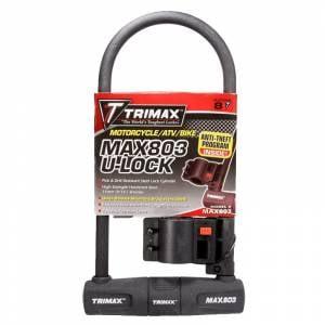 Towing Accessories - Locks - Trimax - Trimax MAX803 U-Shackle Lock
