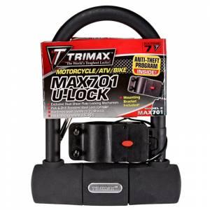 Towing Accessories - Locks - Trimax - Trimax MAX701 U-Shackle Lock