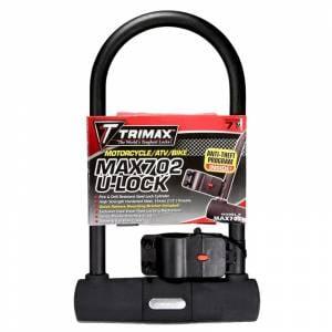 Towing Accessories - Locks - Trimax - Trimax MAX702 U-Shackle Lock