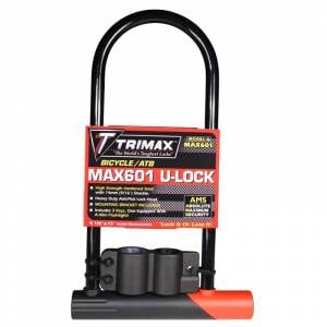 Towing Accessories - Locks - Trimax - Trimax MAX601 Max-Security Bicycle/ATB U-Shackle Lock