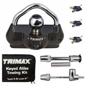 Towing Accessories - Locks - Trimax - Trimax TCP100 Universal Keyed Alike Towing Kit