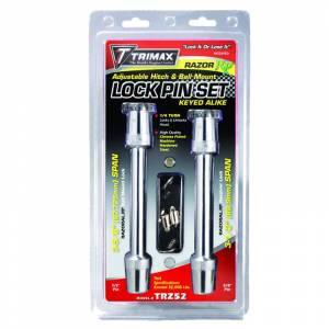 Trimax TRZ52 Keyed Alike Razor AL-RP Receiver Lock Set