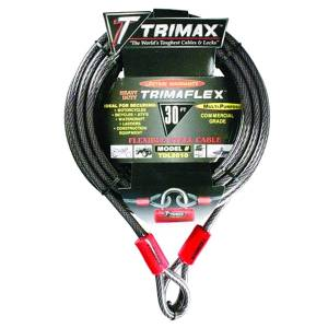 Towing Accessories - Locks - Trimax - Trimax TDL3010 Trimaflex Dual Loop Multi-Use Cable