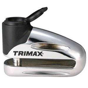 Towing Accessories - Locks - Trimax - Trimax T665LC Hardened Metal Disc Lock with Pouch and Reminder Cable