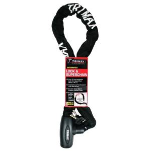 Towing Accessories - Locks - Trimax - Trimax THEX836 Integrated Lock and Super Chain
