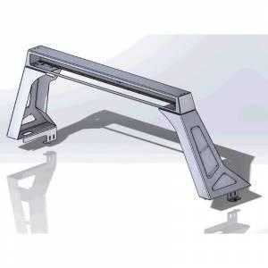 Hammerhead Bumpers - Hammerhead 600-56-0824 Headache Rack for Chevy Silverado and GMC Sierra 2500/2500HD/3500 2015-2021