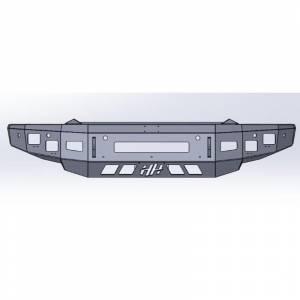 Hammerhead Bumpers - Hammerhead 600-56-0852 Low Profile Front Bumper for Dodge Ram 1500 2019-2021