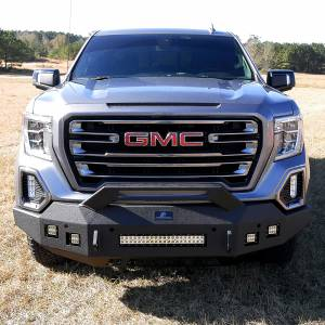 Hammerhead Bumpers - Hammerhead 600-56-1000 Low Profile Front Bumper with Formed Pre Runner Guard for GMC Sierra 1500 2019-2021